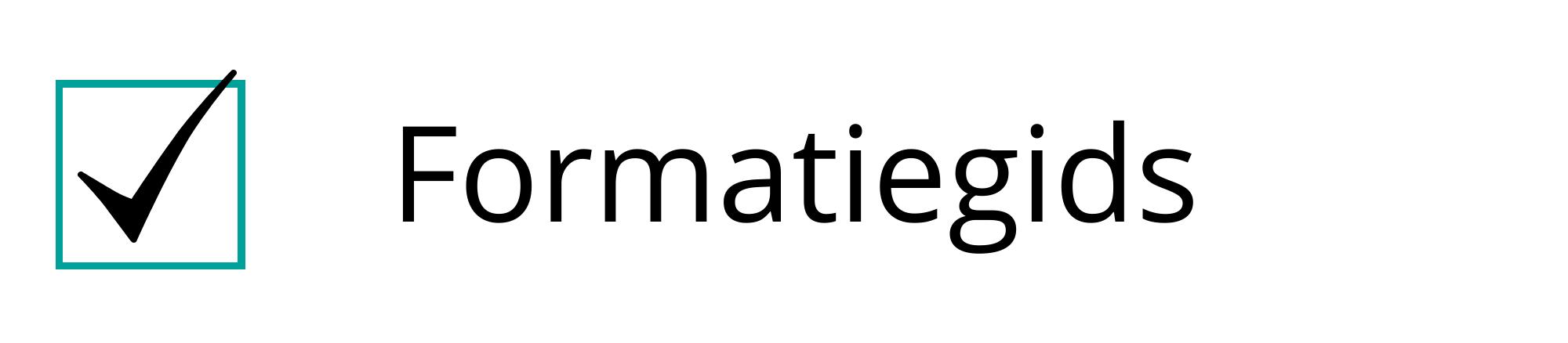 Formatiegids